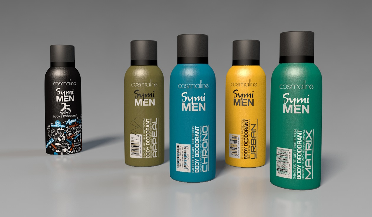 Regular and limted edition Deodorant Range