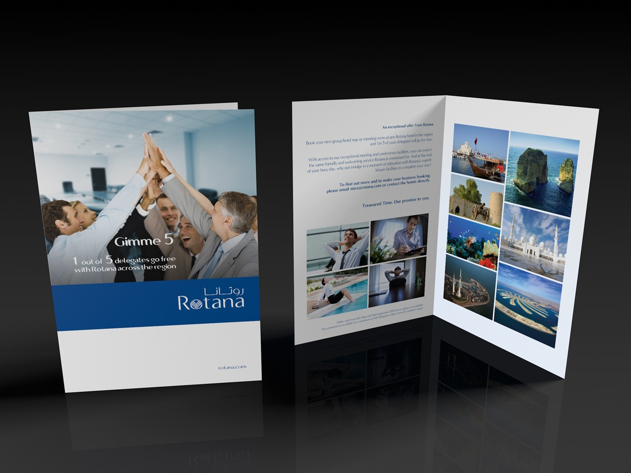 Business package promotion Leaflet